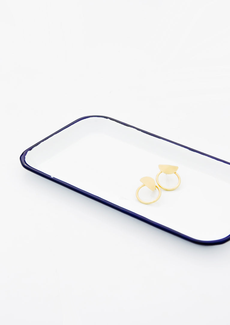 2: Enamel Catchall Tray in  - LEIF