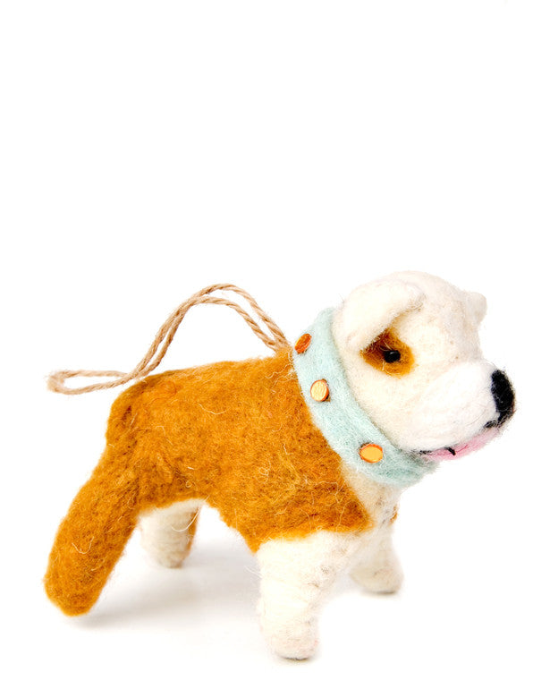 English Bulldog Ornament - LEIF