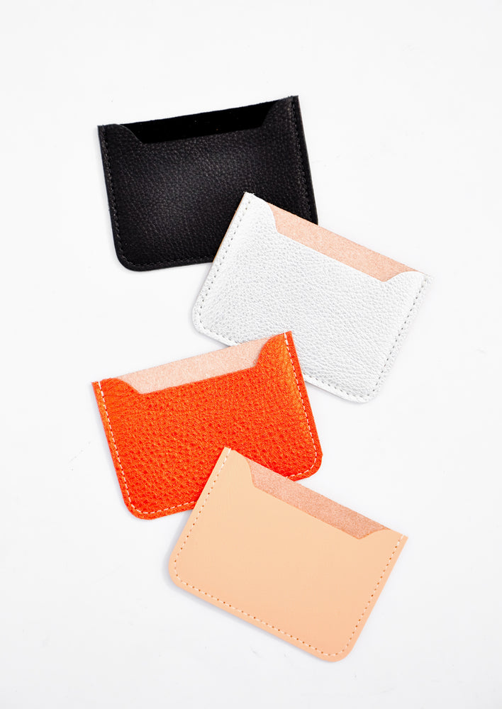 1: Essential Leather Card Holder in  - LEIF