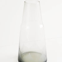 2: Smoked Glass Etched Decanter - LEIF