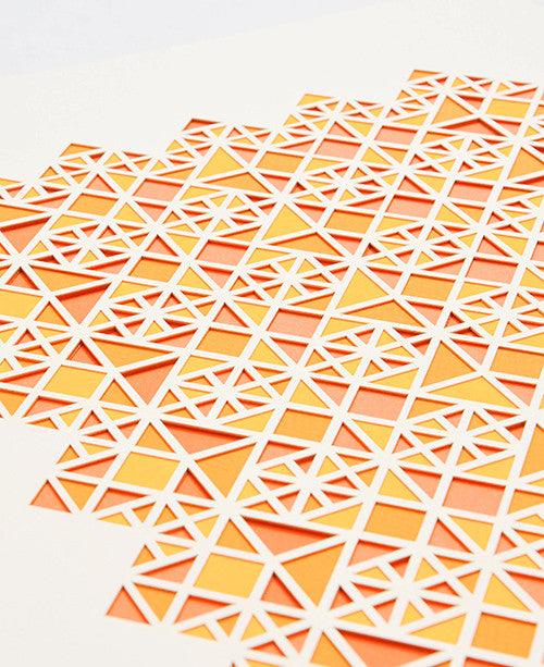 Exhex Laser Cut Artwork - LEIF
