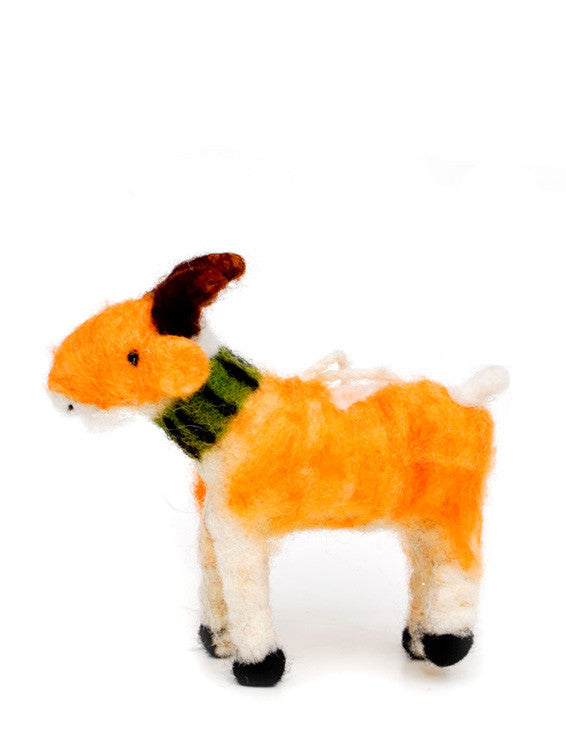 Farmhouse Goat Ornament
