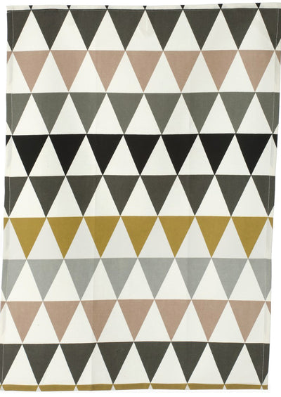 Triangles Tea Towel - LEIF
