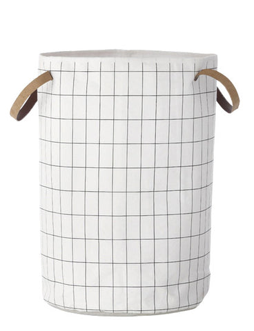 Grid Laundry Basket - LEIF