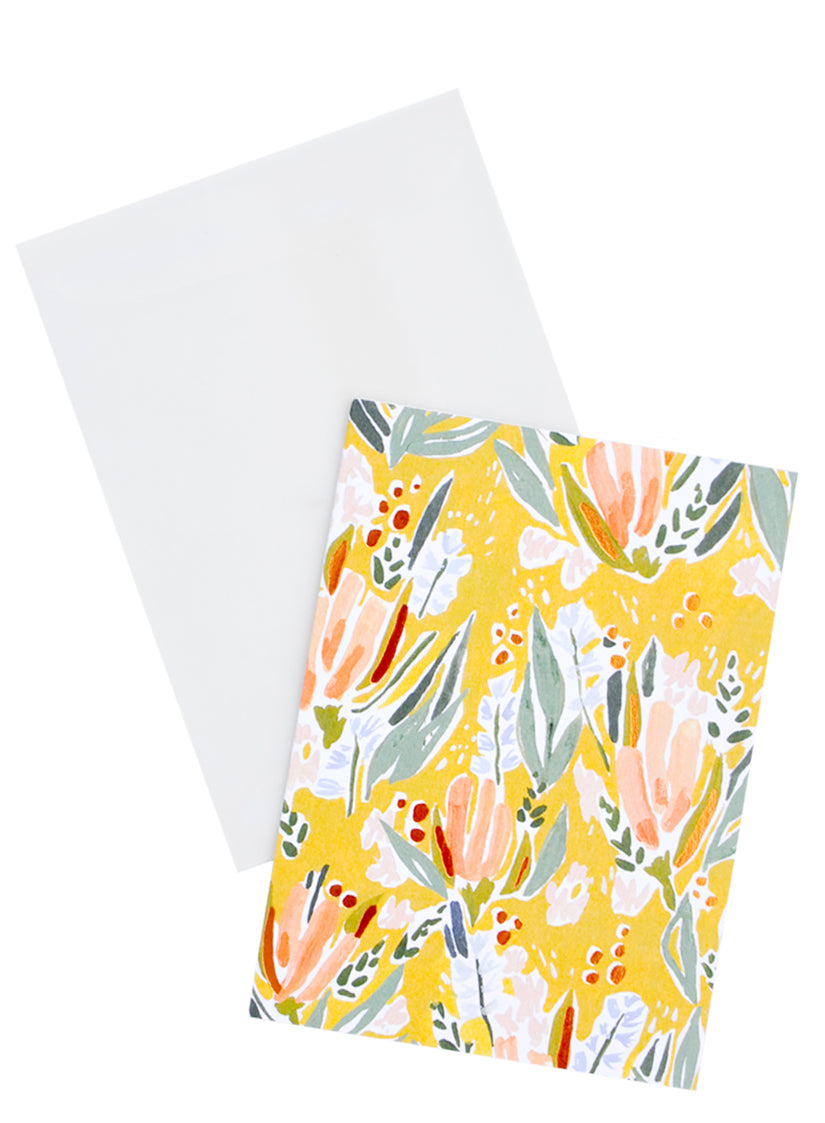 Wheaton Floral Notecard Set in  - LEIF