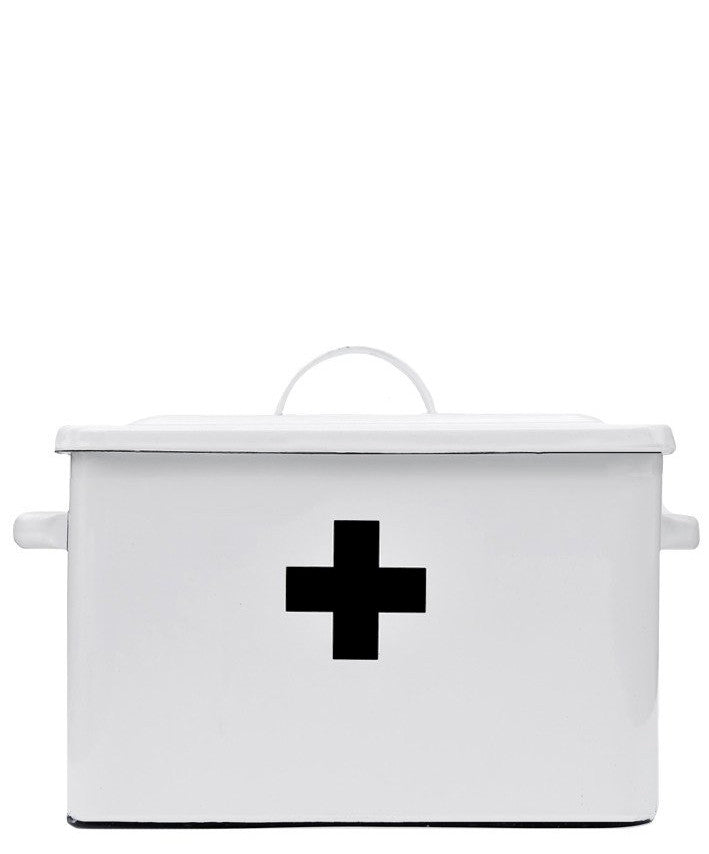 Enameled First Aid Box - LEIF