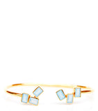 Floating Blocks Cuff Bracelet