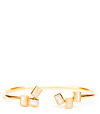 Floating Blocks Cuff Bracelet - LEIF