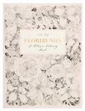 Floribunda Flower Coloring Book - LEIF