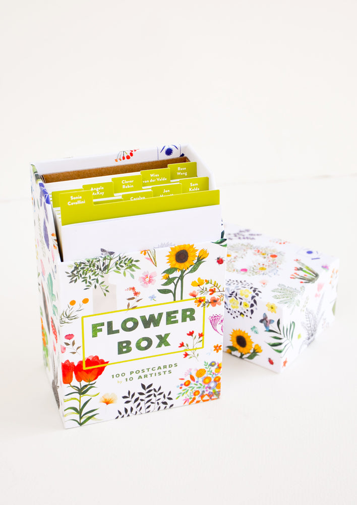 3: Flower Box Postcard Set