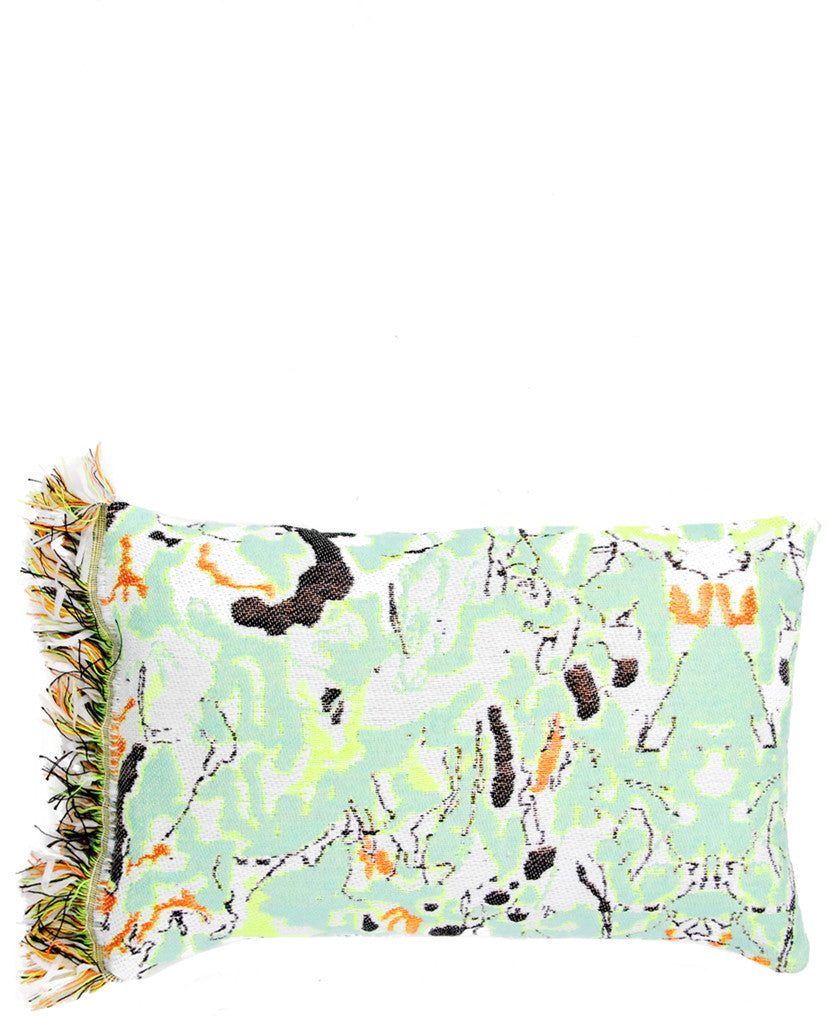 Fluoro Fringe Cushion - LEIF