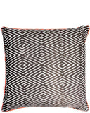 Fluoro Trim Geo Pillow