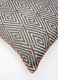 Fluoro Trim Geo Pillow - LEIF