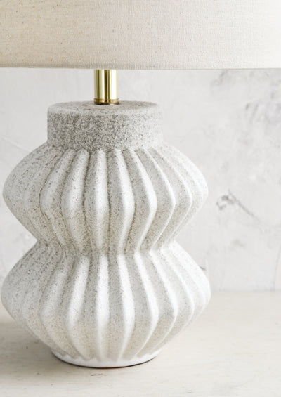 Fluted Ceramic Table Lamp hover