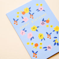 2: Folk Floral Birthday Card in  - LEIF