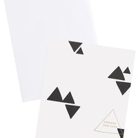 Forever & Ever Triangles Card - LEIF