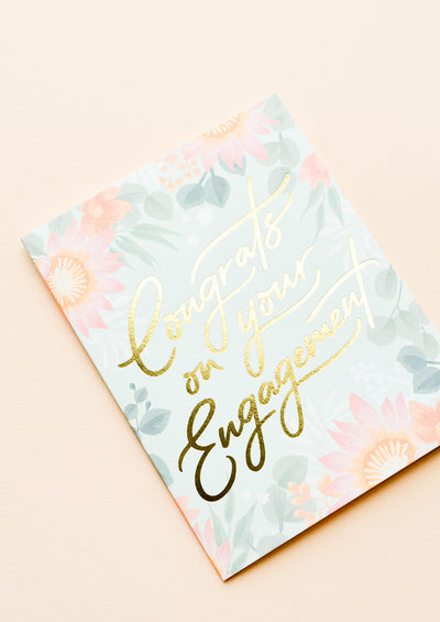 Congrats on Your Engagement Card hover