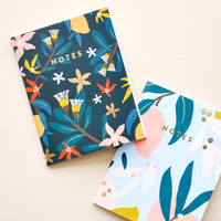 Pocket Notebook Duo in Moody Mango - LEIF