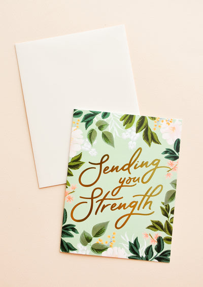 Sending You Strength Card