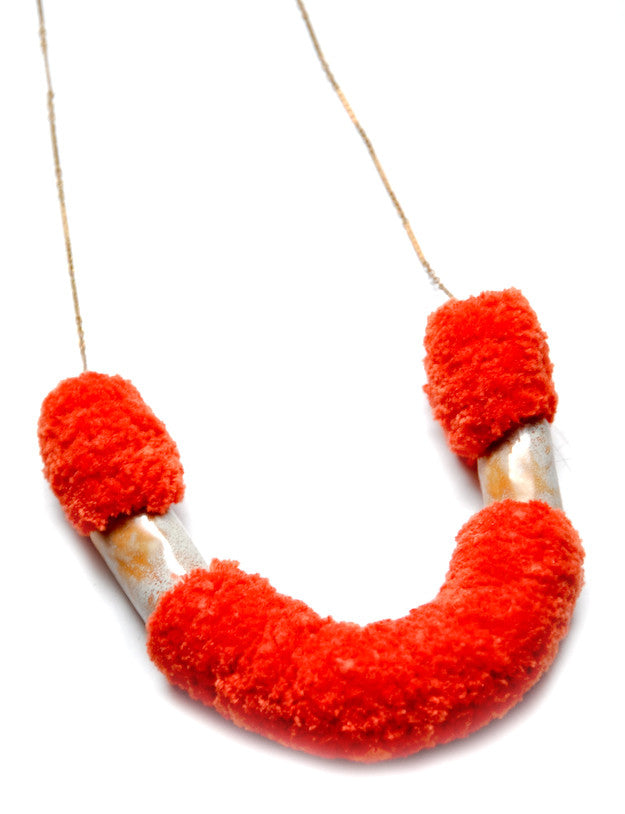 Fox Necklace in Cinnamon - LEIF