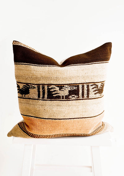 Frazada Pillow in Andean Motif