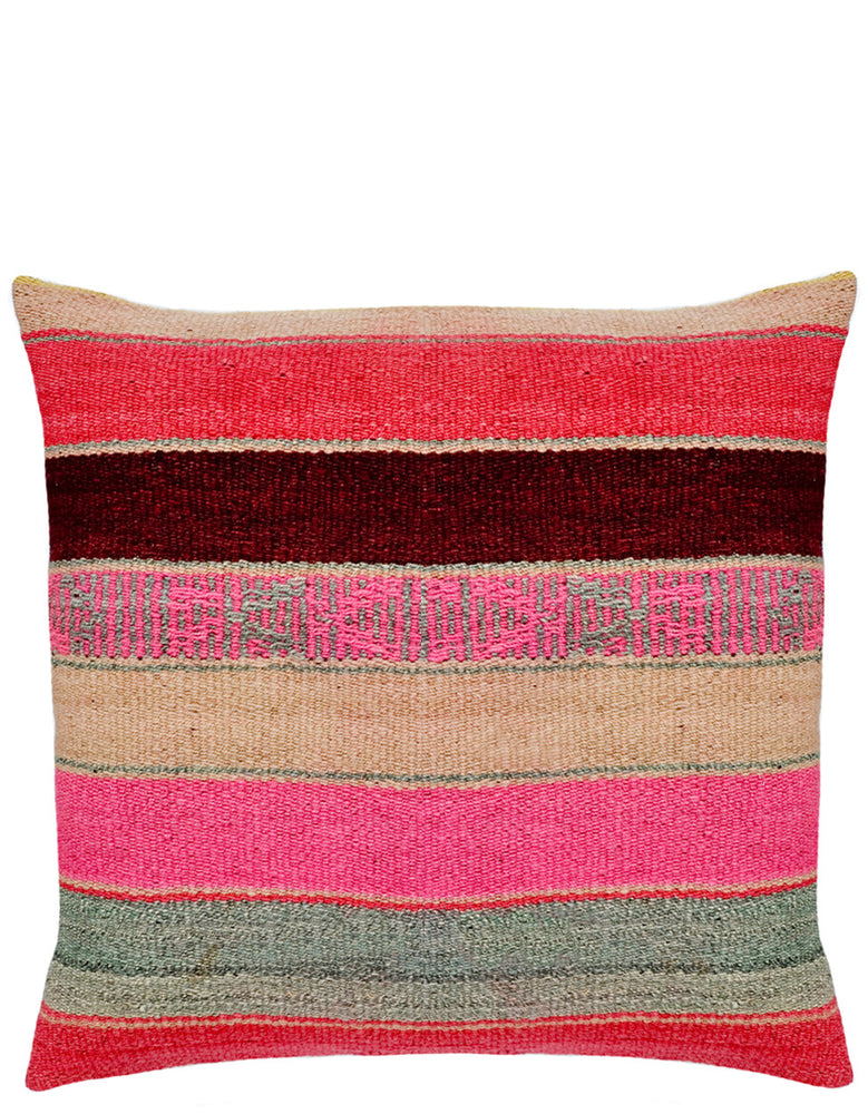 "1: Bolivian Frazada Pillow in Mesa, 22"" in  - LEIF"