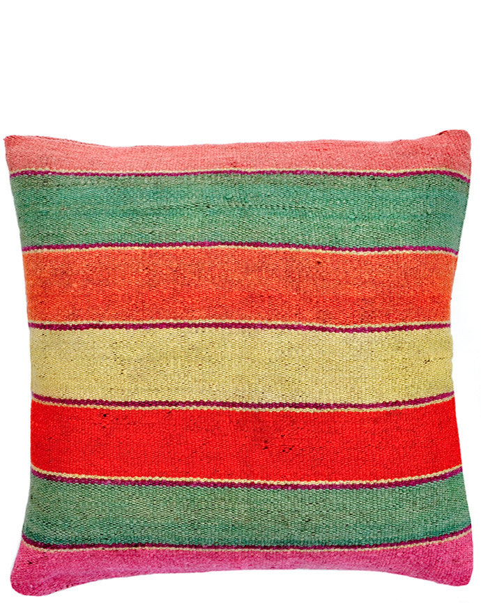 "Bolivian Frazada Pillow in Palm Springs, 22"" - LEIF"