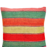 "1: Bolivian Frazada Pillow in Palm Springs, 22"" in  - LEIF"