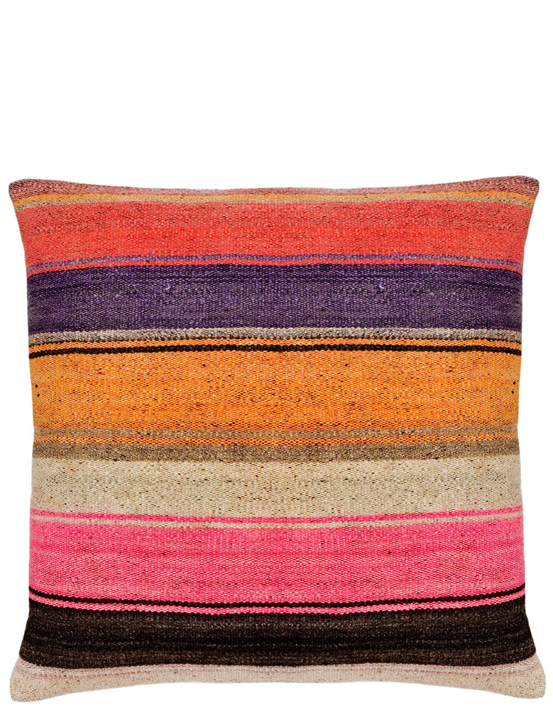 "Bolivian Frazada Pillow in Tahoe, 22"" - LEIF"