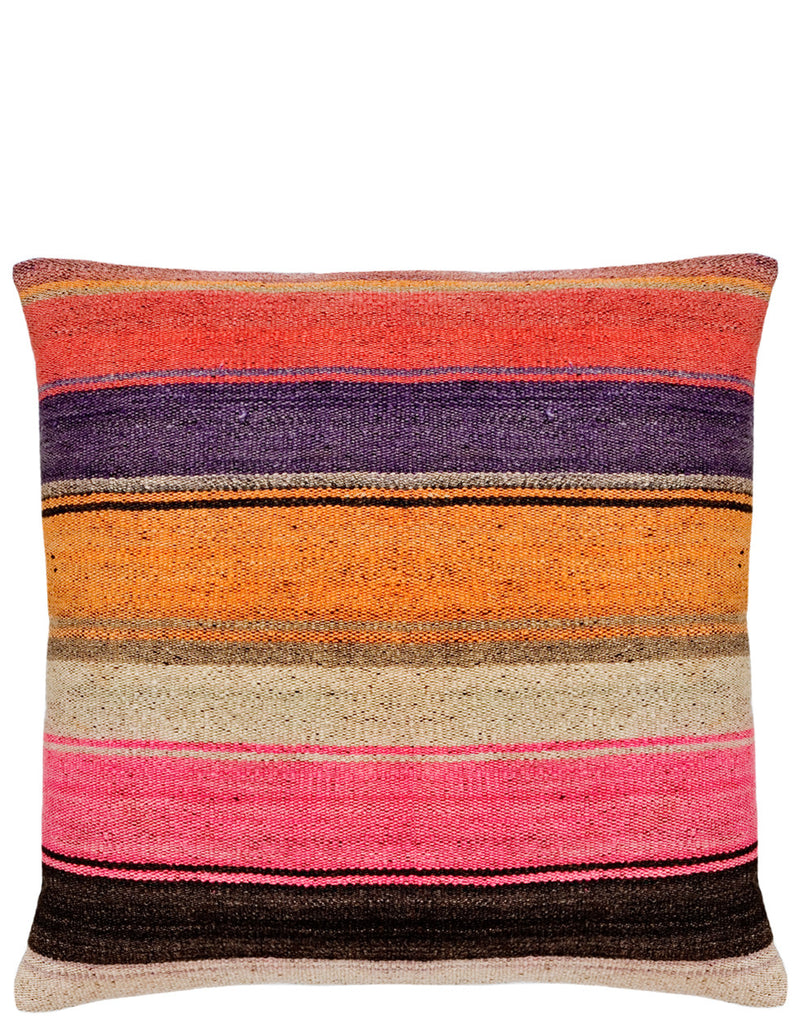 Bolivian Frazada Pillow in Tahoe, 22""
