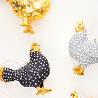 2: Spotted Hen Ornament in  - LEIF