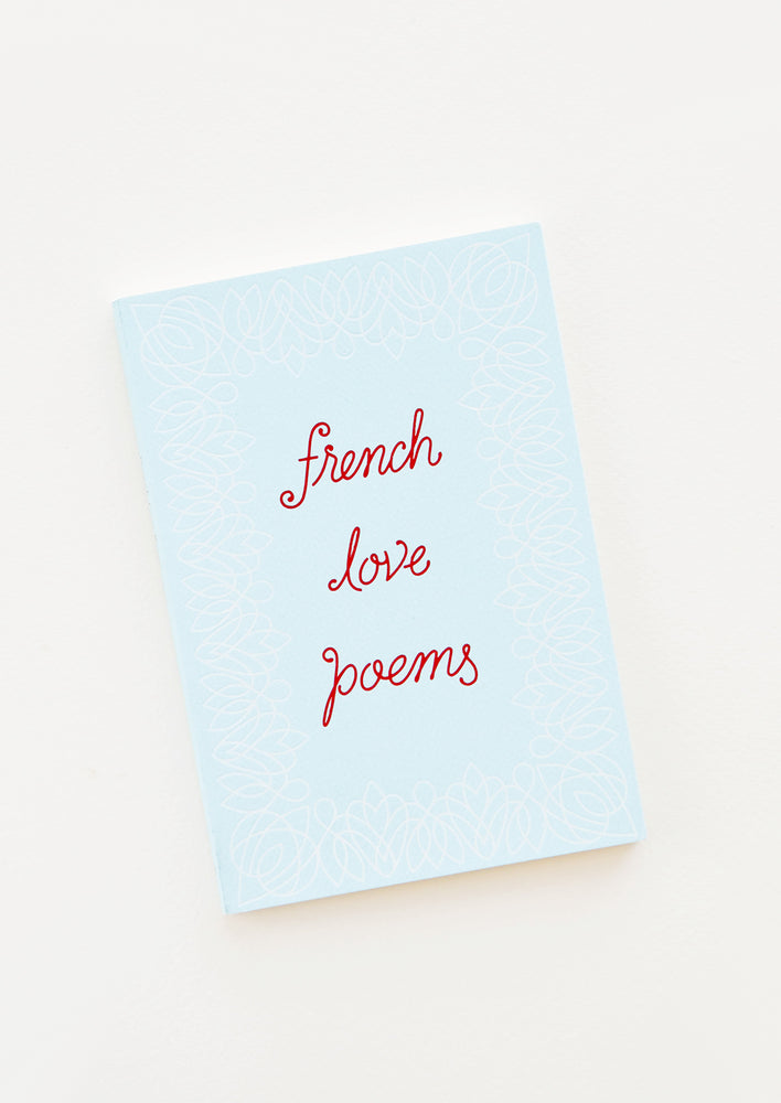 French Love Poems Book in  - LEIF