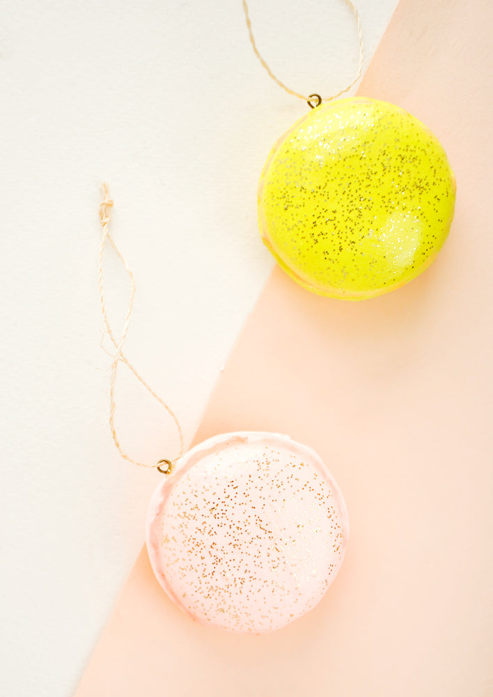 1: French Macaron Ornament