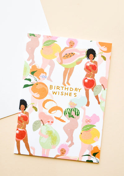Fruity Nudes Birthday Card