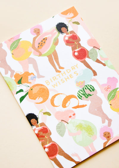 Fruity Nudes Birthday Card hover