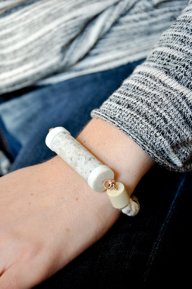 Fundamental Bracelet in Pumice