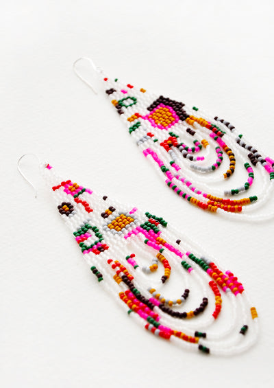 Galactic Groove Beaded Earrings