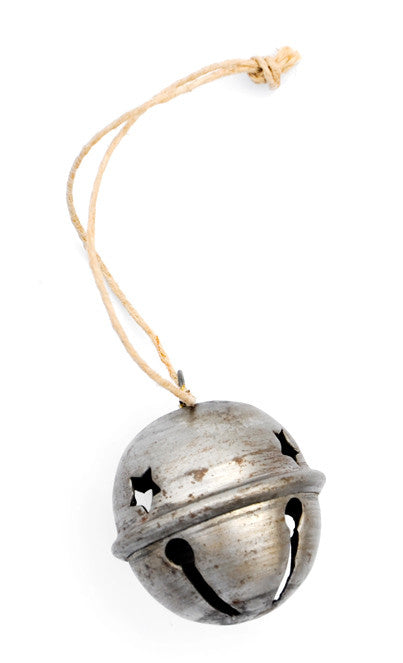 Galvanized Bell Ornament