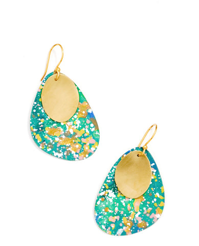 Garden Splatter Earrings