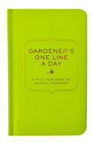 Gardener's One Line a Day Journal - LEIF