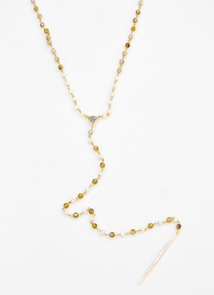 Gem & Pearl Necklace