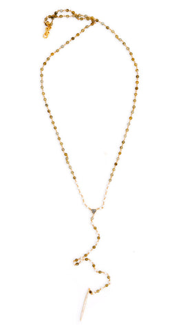 Gem & Pearl Necklace - LEIF