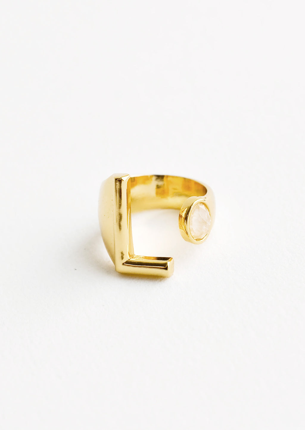 Gem Initial Ring in  - LEIF