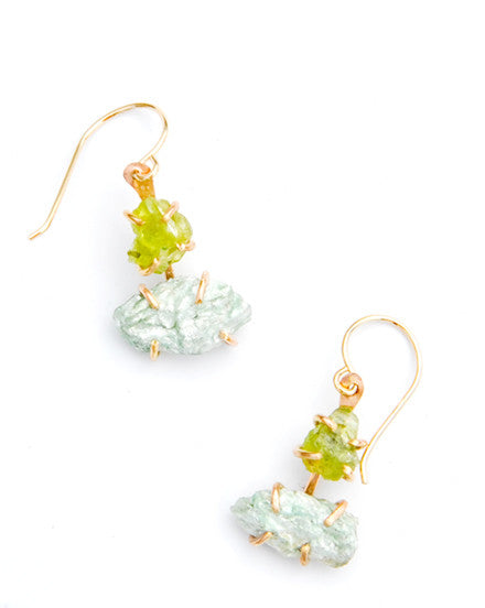 Gem Ladder Earrings - LEIF