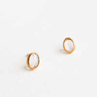 1: Gemma Moonstone Stud Earrings