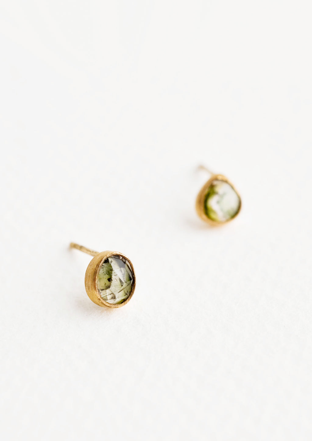 Gemma Tourmaline Stud Earrings