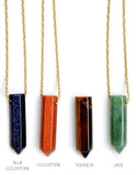 Gemstone Point Necklace - LEIF