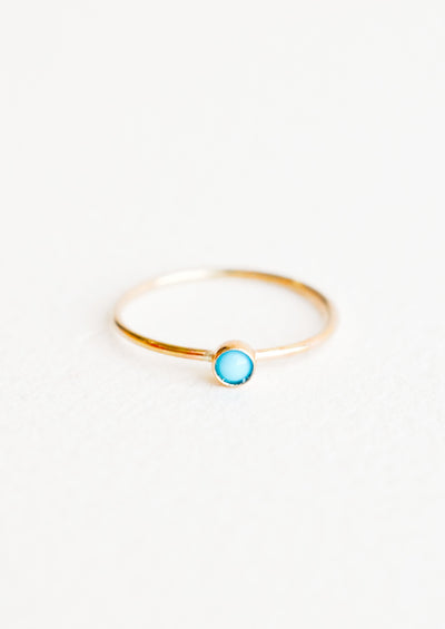 Gemstone Bezel Ring