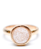 Geo Drusy Ring in Blush - LEIF