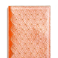 2: Geo Metallic Leather Card Case in  - LEIF